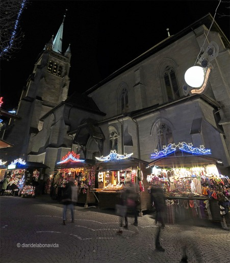 Laussane, Suiza. Mercat Nadal