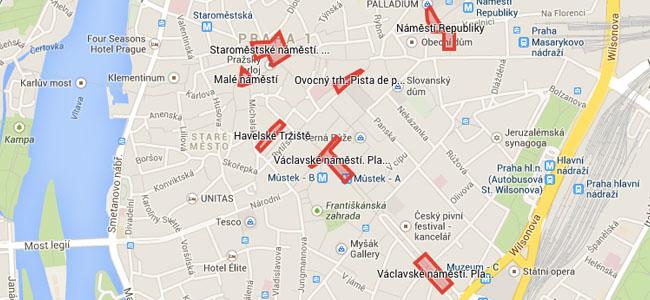 Clica sobre el mapa per veure la ubicació dels principals Mercats de Nadal