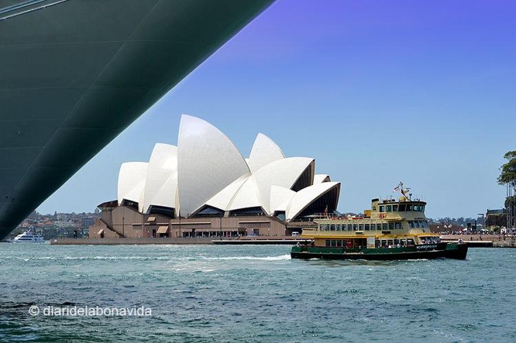 Òpera House des de Circular Quay. Sydney