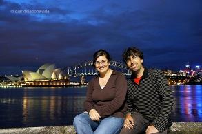 Davant l'Opera House de Sydney. Austràlia
