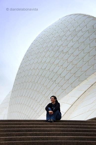 Descansant a l' Opera House. Sydney