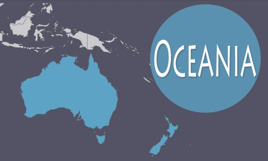 mapa visita oceania