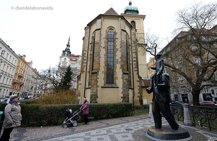 Estàtua homenatge a Franz Kafka