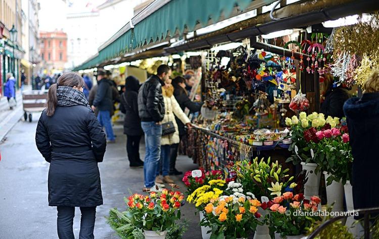 Mercat al carrer Havelska