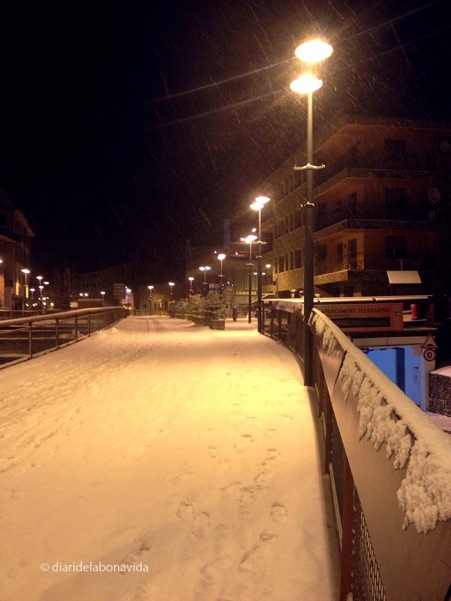 Nevant tota la nit
