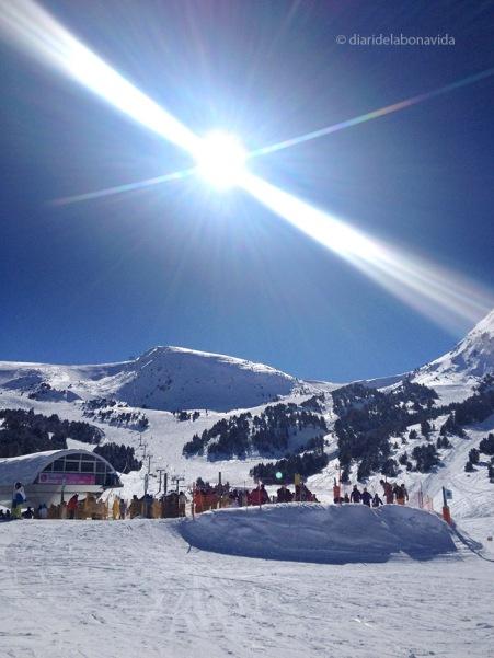 Un dia perfecte per esquiar