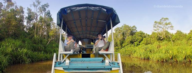 indonesia ruta nosaltres klotok