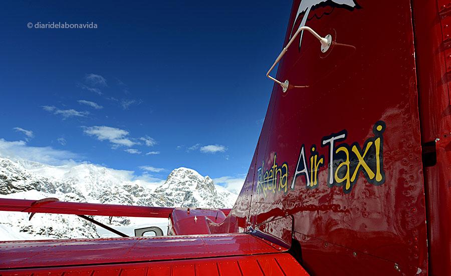 Volem amb la companyia Talkeetna Air Taxi