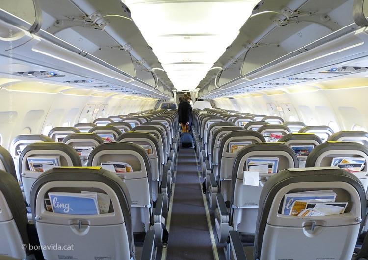 Volem amb un Airbus A-320 de la companyia Vueling
