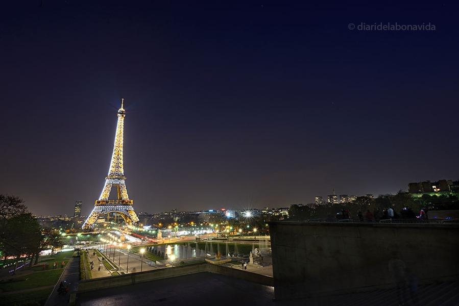 Trocadero és un dels millors punts on veure la Torre Eiffel