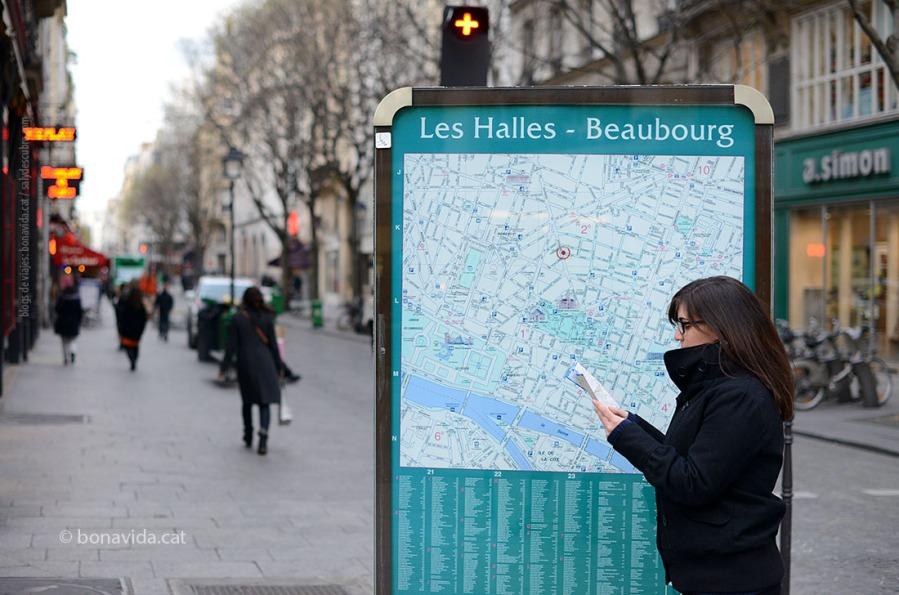 I un cop arribem al centre de París, a voltar com bojos!!!