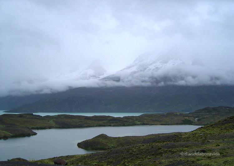 ...d'altres tenim mala sort amb la meteorologia i no ens permet observar amb claretat les Torres del Paine a Xile