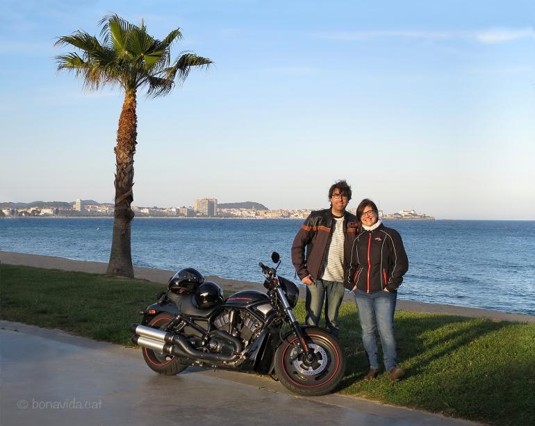 El temps ja acompanya i la moto és ideal per voltar.