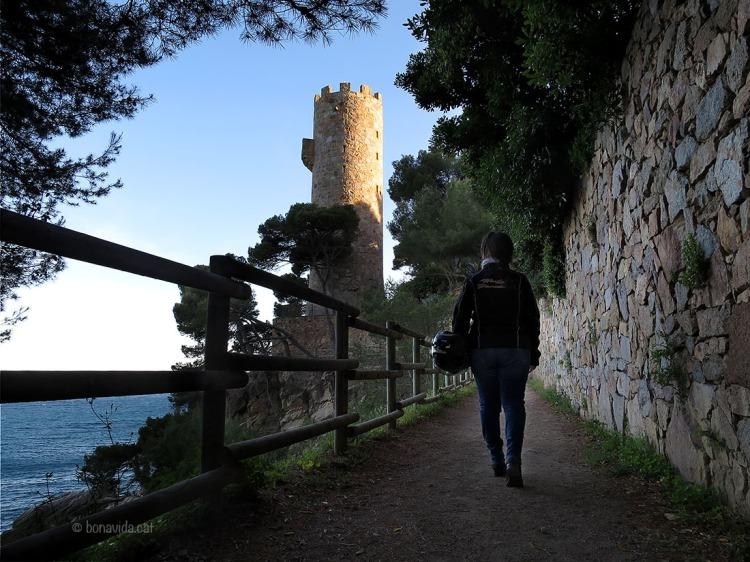 Torre Valentina i el camí de Ronda