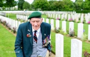 Tot un honor conèixer a un autèntic combatent de la II Guerra Mundial