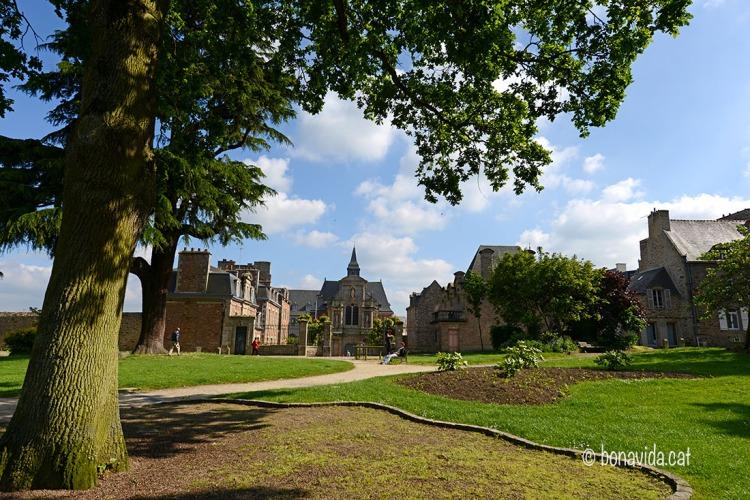 Le Jardin Anglais és molt conegut a Dinan