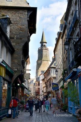 El centre històric de Dinan
