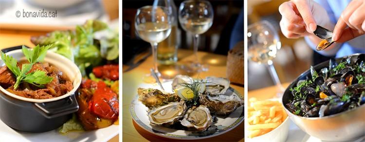 Una petita mostra de l'estupenda gastronomia bretona