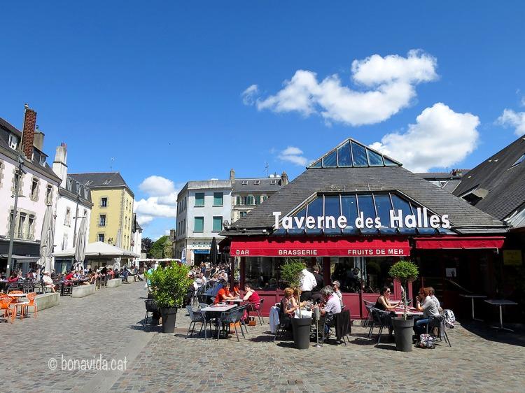 Les Halles St-François és el mercat principal de Quimper