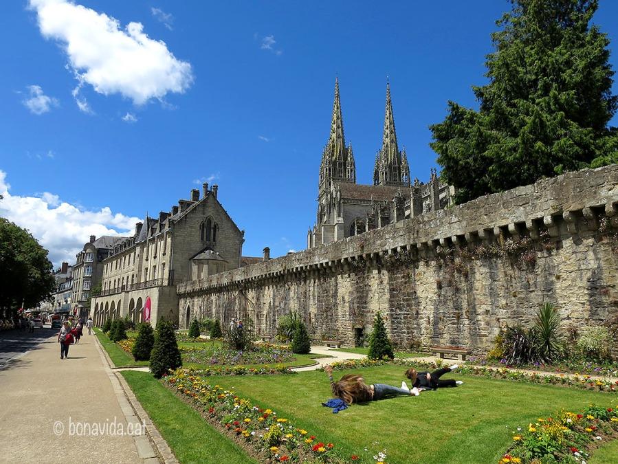 Muralla i Cathédrale St-Corentin