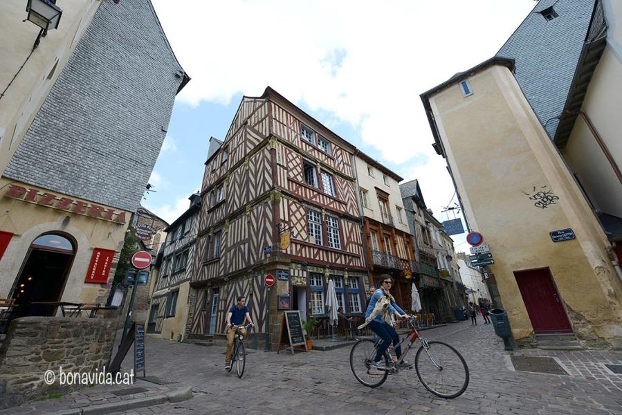 Cases amb molta història a Rennes