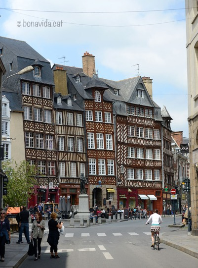 Rennes. Bretanya