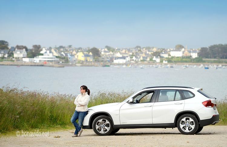 La ruta en cotxe ens permet parar on vulguem i gaudir de les vistes