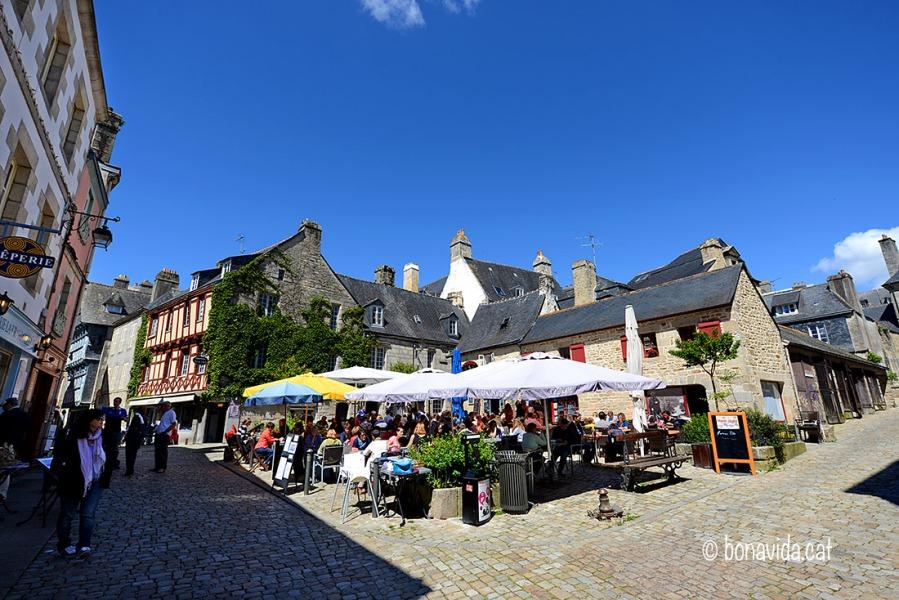 La Place au Beurre és el lloc ideal per menjar crêpes