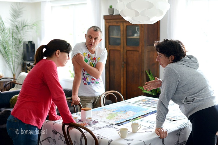 En Pascal i la Valérie ens acullen i recomanen un munt de llocs a visitar