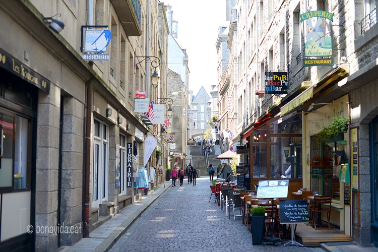 Carrers d'Intra-muros, a St-Malo