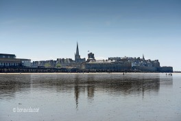 St-Malo i el seu Intramuros vist des de la platja