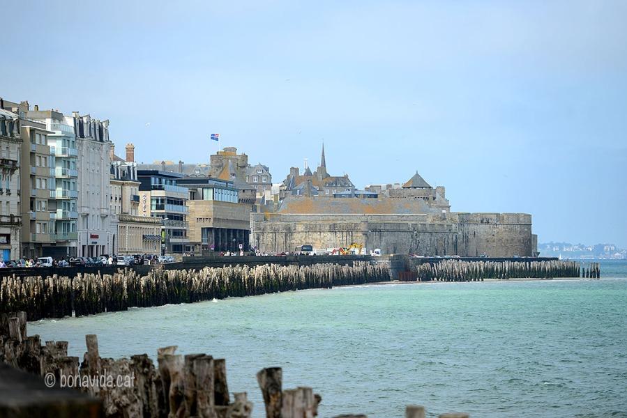 Saint Malo i la seva platja