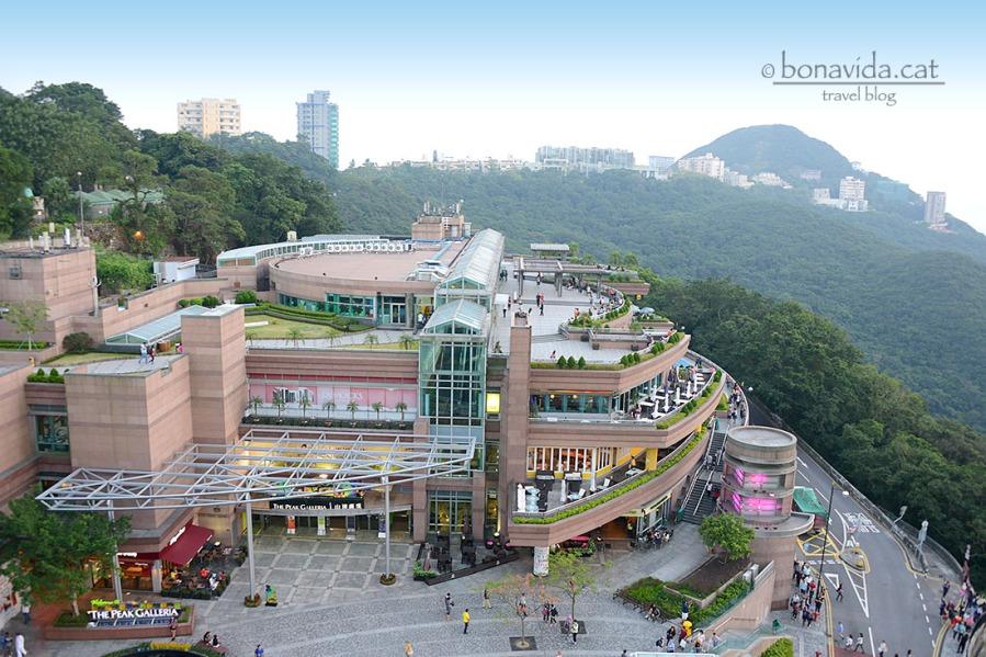 The Peak inclou restaurants, botigues i zona d'oci