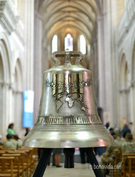 La nova campana de la Catedral