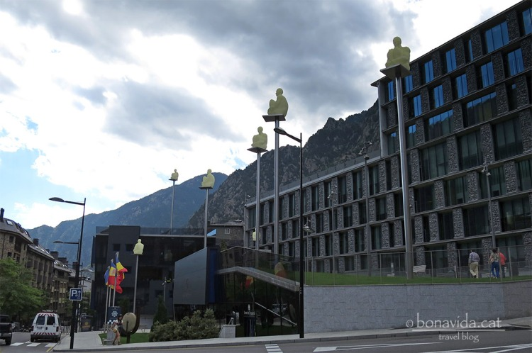 Escultures de Jaume Plensa a Andorra la Vella
