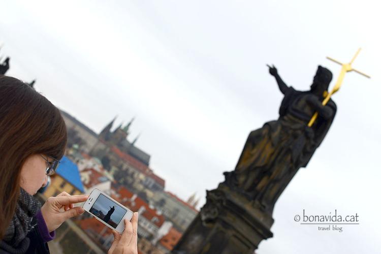 Fotografiant les escultures