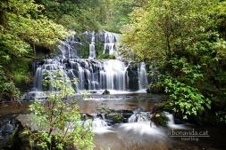 Les Purakaunui Falls