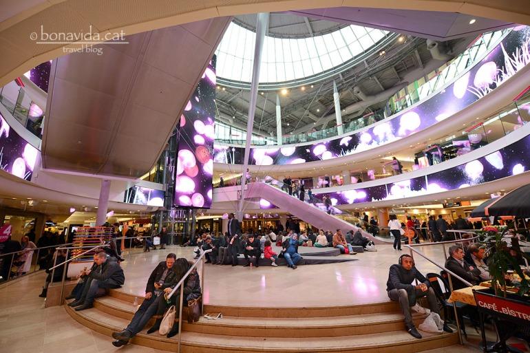 El Centre Comercial és enorme