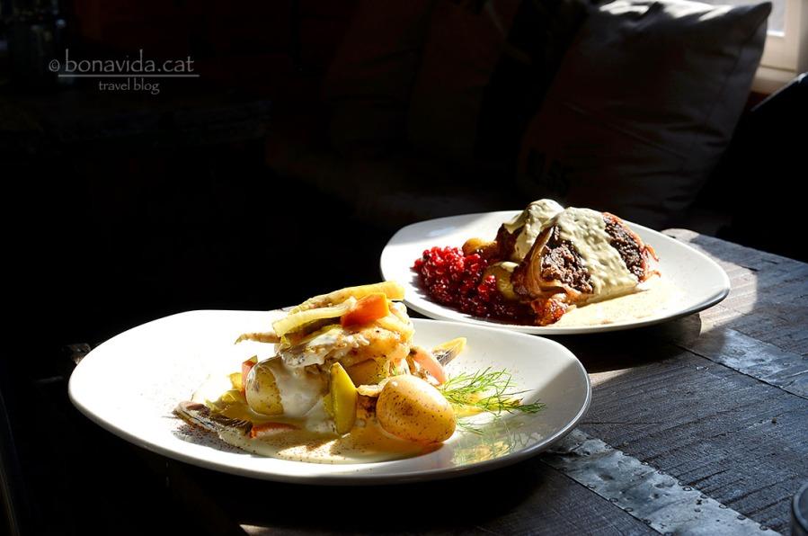 Gastronomia sueca. Fisk & Kött