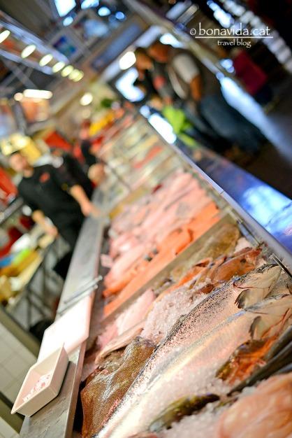 Feskekorke, el mercat del peix a Göteborg