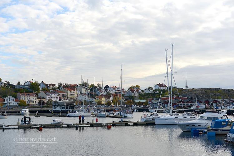 Port i vistes d' Strömstad