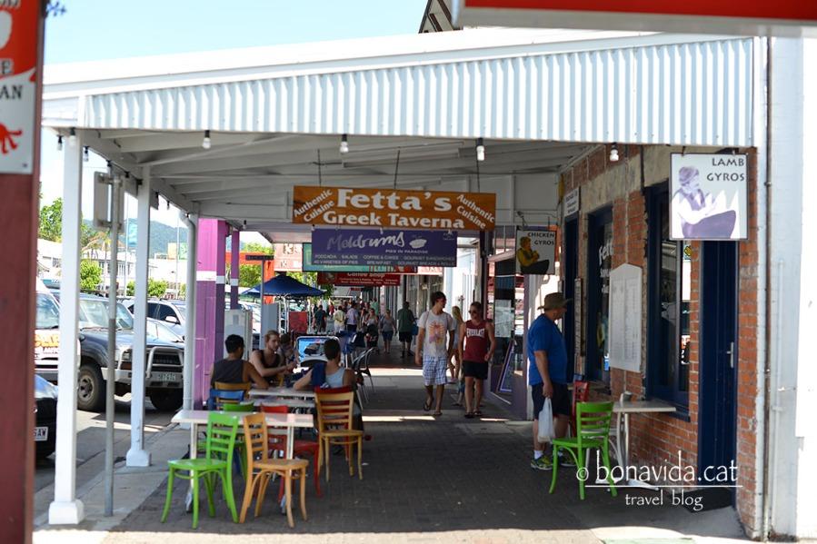 Ambient a la ciutat de Cairns