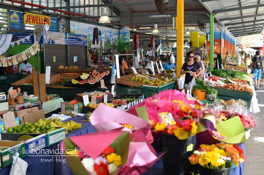 Parades al mercat