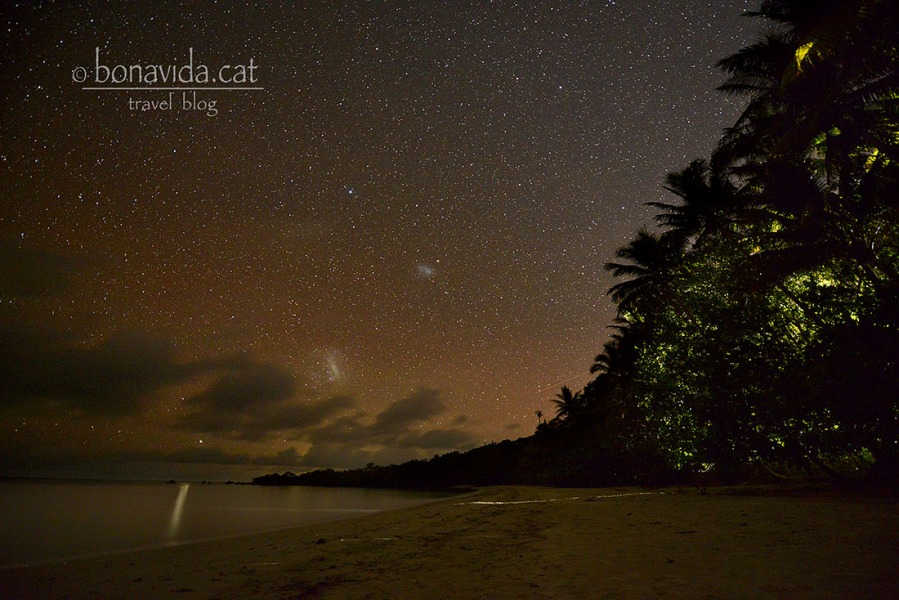 Un mar d'estrelles sobre la platja