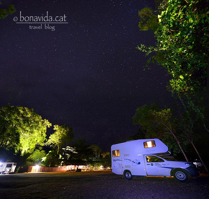 ...acampar sota les estrelles...