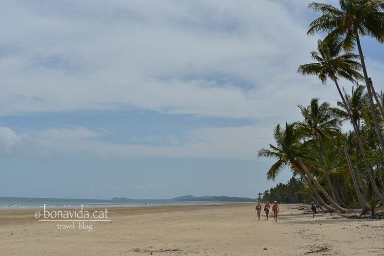 La magnífica platja de Mission Beach