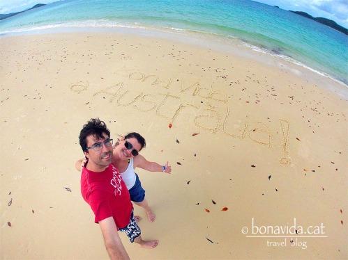 australia whitehaven beach nosaltres gopro