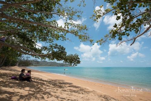 Quina tranquil.litat trobem en algunes platges!