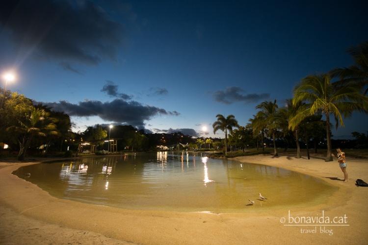 Lagoon de la ciutat. No pot faltar la piscina d'aigua salada