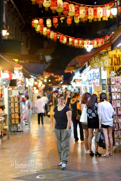 Patejant els carrers de Chinatown